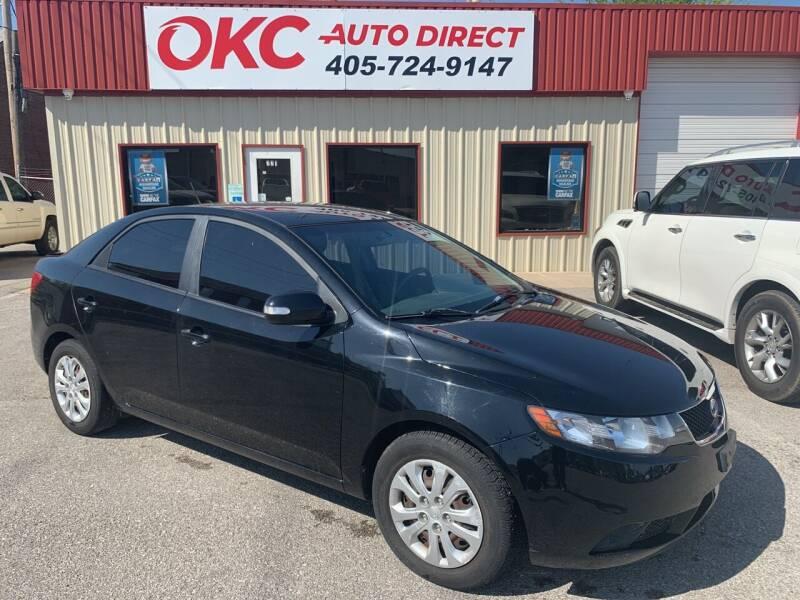 2010 Kia Forte for sale at OKC Auto Direct, LLC in Oklahoma City OK