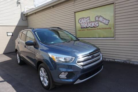 2018 Ford Escape for sale at Cars Trucks & More in Howell MI