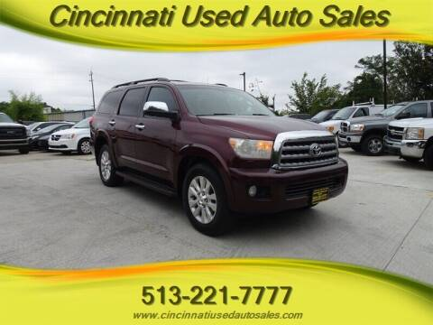 2010 Toyota Sequoia for sale at Cincinnati Used Auto Sales in Cincinnati OH