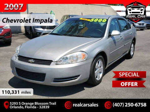 2007 Chevrolet Impala for sale at Real Car Sales in Orlando FL