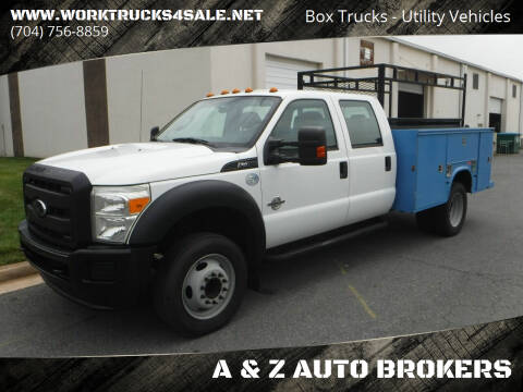 2012 Ford F-450 Super Duty for sale at A & Z AUTO BROKERS in Charlotte NC