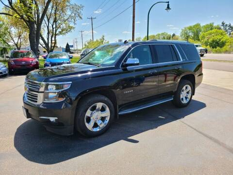 2015 Chevrolet Tahoe for sale at Premier Motors LLC in Crystal MN