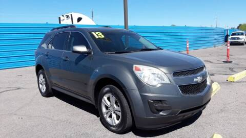 2013 Chevrolet Equinox for sale at CAMEL MOTORS in Tucson AZ