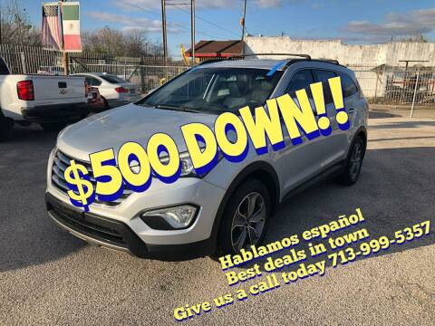 2013 Hyundai Santa Fe for sale at Saipan Auto Sales in Houston TX