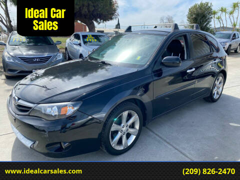 2010 Subaru Impreza for sale at Ideal Car Sales in Los Banos CA