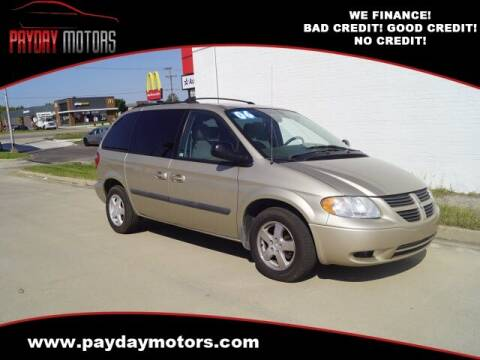 2006 Dodge Caravan for sale at Payday Motors in Wichita And Topeka KS