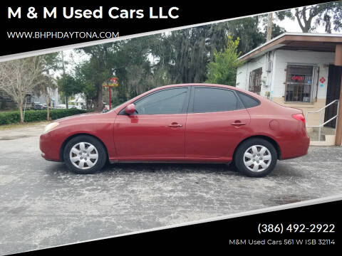 2008 Hyundai Elantra for sale at M & M Used Cars LLC in Daytona Beach FL