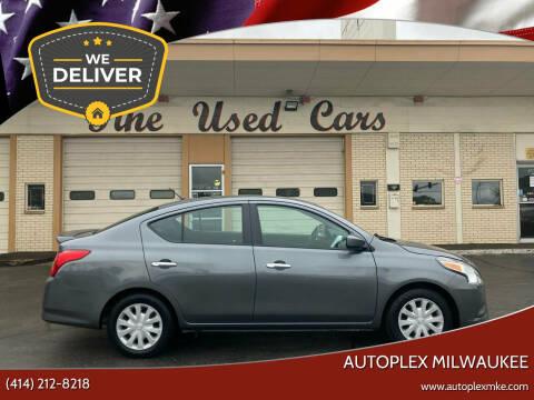 2018 Nissan Versa for sale at Autoplex 2 in Milwaukee WI
