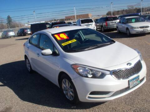 2014 Kia Forte for sale at Country Side Car Sales in Elk River MN