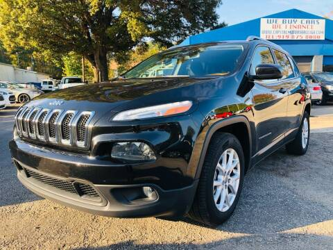 2014 Jeep Cherokee for sale at Capital Motors in Raleigh NC