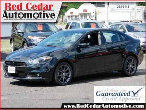 2015 Dodge Dart for sale at Red Cedar Automotive in Menomonie WI
