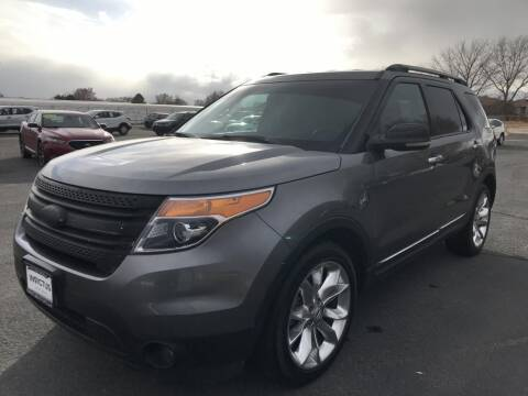 2012 Ford Explorer for sale at INVICTUS MOTOR COMPANY in West Valley City UT