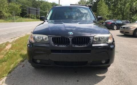 2006 BMW X3 for sale at ALZ Auto Sales in Mount Pocono PA