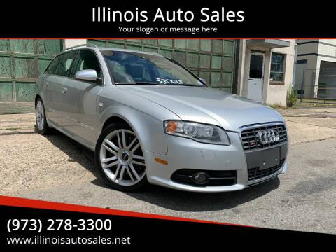 2007 Audi S4 for sale at Illinois Auto Sales in Paterson NJ