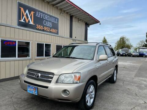 2007 Toyota Highlander Hybrid for sale at M & A Affordable Cars in Vancouver WA