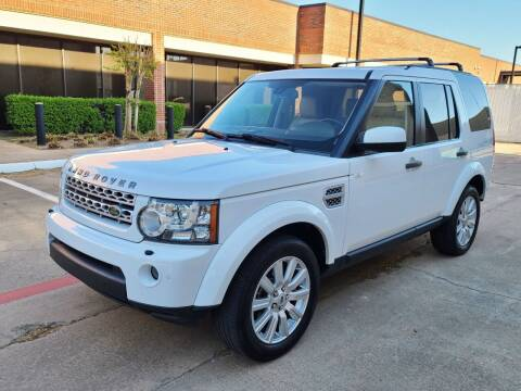 2013 Land Rover LR4 for sale at DFW Autohaus in Dallas TX