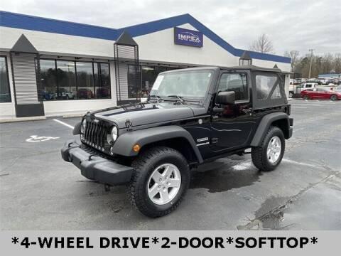 2016 Jeep Wrangler for sale at Impex Auto Sales in Greensboro NC