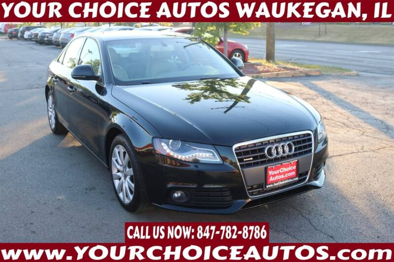 2009 Audi A4 for sale at Your Choice Autos - Waukegan in Waukegan IL