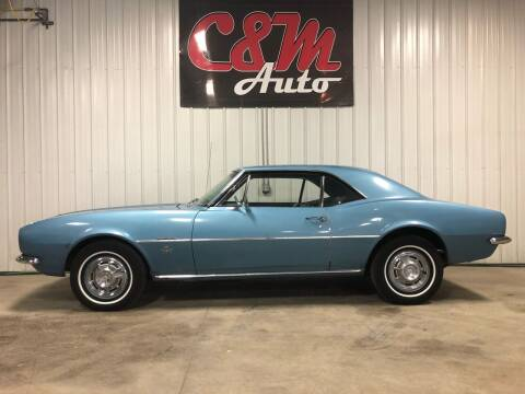 1967 Chevrolet Camaro for sale at C&M Auto in Worthing SD