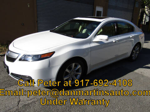 2014 Acura TL for sale at Dan Martin's Auto Depot LTD in Yonkers NY