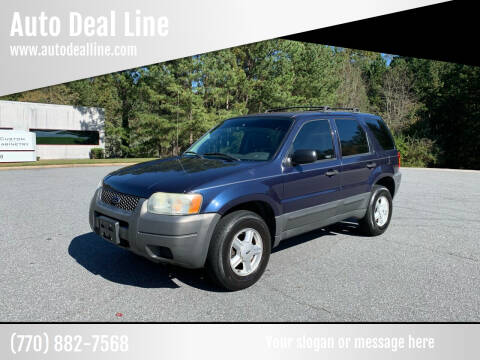 2004 Ford Escape for sale at Auto Deal Line in Alpharetta GA