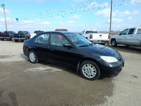 2004 Honda Civic for sale at BLACKWELL MOTORS INC in Farmington MO