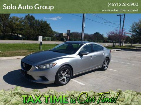 2014 Mazda MAZDA6 for sale at Solo Auto Group in Mckinney TX