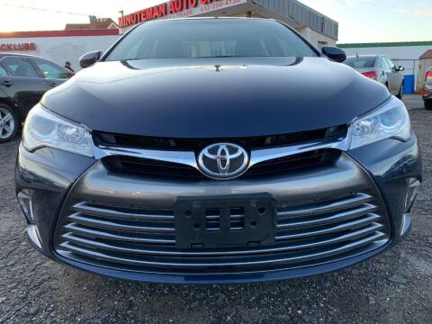 2017 Toyota Camry for sale at Minuteman Auto Sales in Saint Paul MN