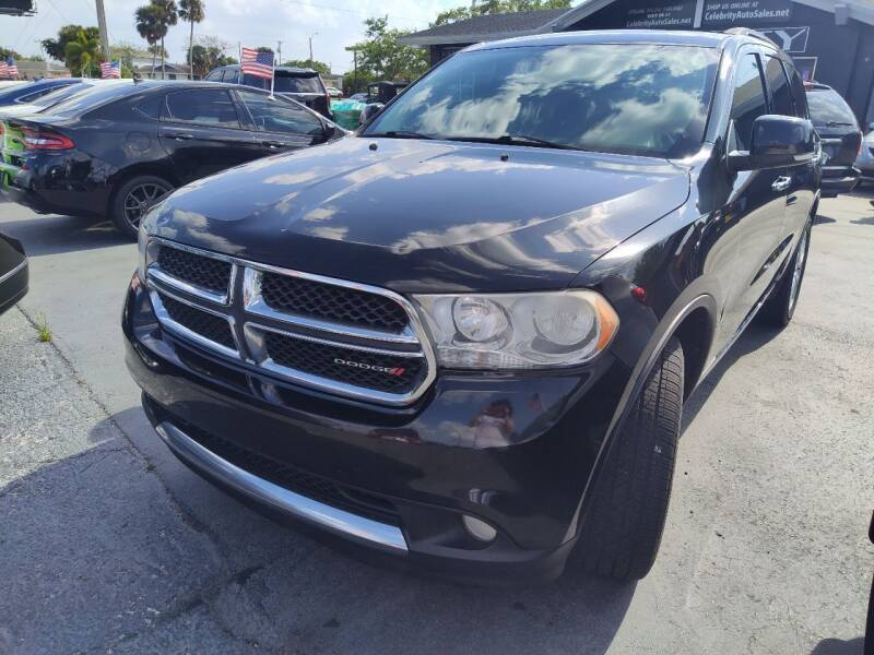2013 Dodge Durango for sale at Celebrity Auto Sales in Port Saint Lucie FL