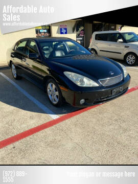 2006 Lexus ES 330 for sale at Affordable Auto Sales in Dallas TX