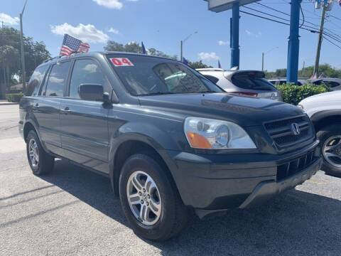 2004 Honda Pilot for sale at AUTO PROVIDER in Fort Lauderdale FL