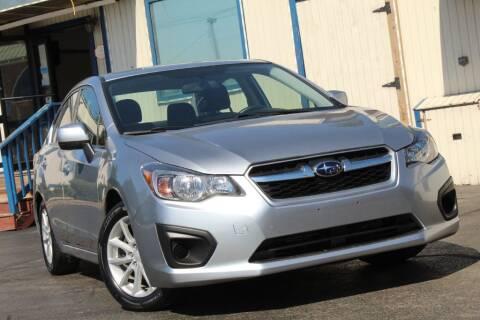 2012 Subaru Impreza for sale at Dynamics Auto Sale in Highland IN