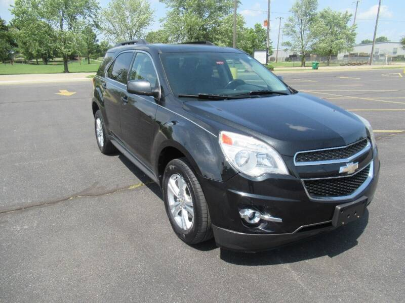 2012 Chevrolet Equinox for sale at Just Drive Auto in Springdale AR