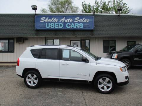 2011 Jeep Compass for sale at SHULTS AUTO SALES INC. in Crystal Lake IL
