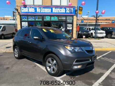 2012 Acura MDX for sale at West Oak in Chicago IL