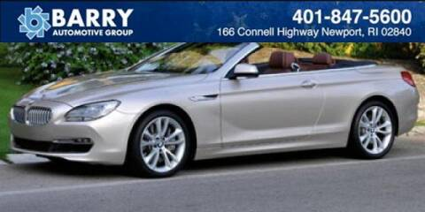 2012 BMW 6 Series for sale at BARRYS Auto Group Inc in Newport RI