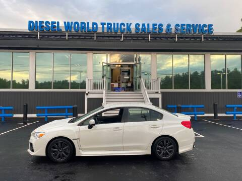2017 Subaru WRX for sale at Diesel World Truck Sales in Plaistow NH