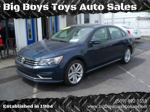 2019 Volkswagen Passat for sale at Big Boys Toys Auto Sales in Spokane Valley WA