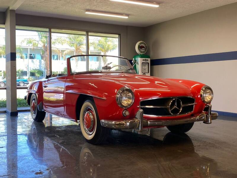 1956 Mercedes-Benz 190SL Roadster for sale at Gallery Junction in Orange CA