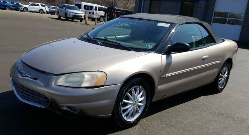 2002 Chrysler Sebring for sale at Angelo's Auto Sales in Lowellville OH