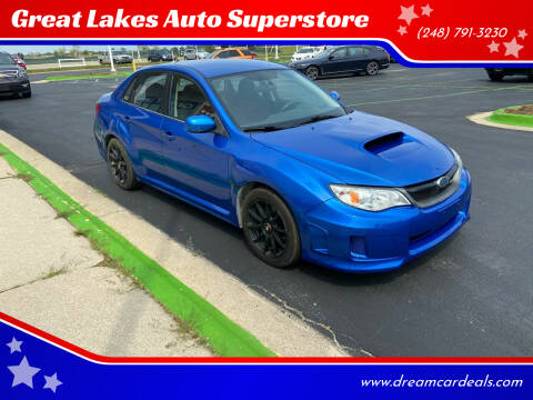 2014 Subaru Impreza for sale at Great Lakes Auto Superstore in Waterford Township MI