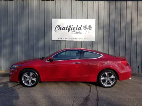2011 Honda Accord for sale at Chatfield Motors in Chatfield MN