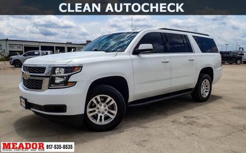 2017 Chevrolet Suburban for sale at Meador Dodge Chrysler Jeep RAM in Fort Worth TX