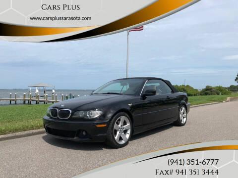 2006 BMW 3 Series for sale at Cars Plus in Sarasota FL