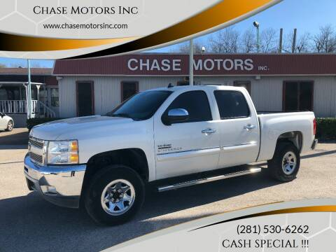 2013 Chevrolet Silverado 1500 for sale at Chase Motors Inc in Stafford TX