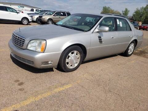 2005 Cadillac DeVille for sale at Geareys Auto Sales of Sioux Falls, LLC in Sioux Falls SD