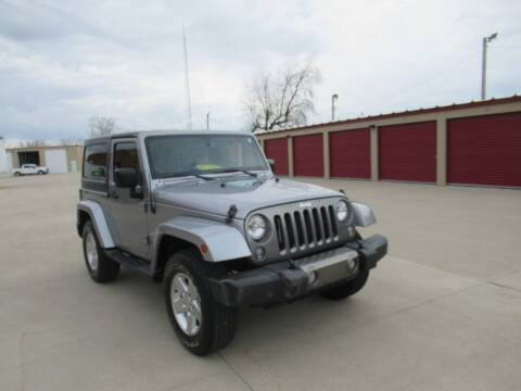2014 Jeep Wrangler for sale at Perfection Auto Detailing & Wheels in Bloomington IL