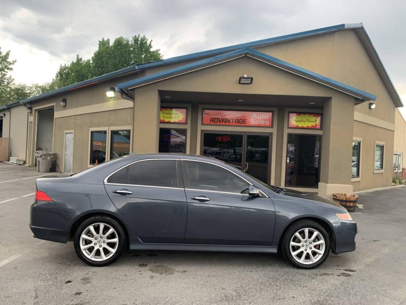 2008 Acura TSX for sale at Advantage Auto Sales in Garden City ID