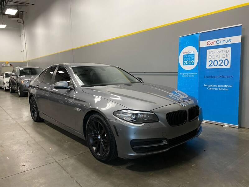 2014 BMW 5 Series for sale at Loudoun Motors in Sterling VA