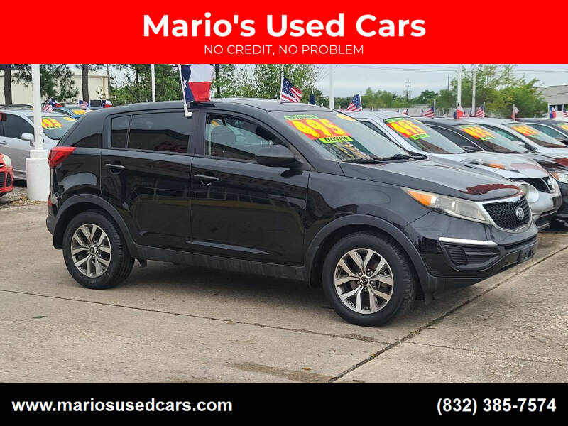 2014 Kia Sportage for sale at Mario's Used Cars in Houston TX
